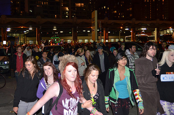Nuit Blanche Renegade Parade 2011