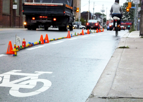 Lego Bike Lane