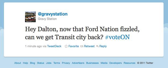Twitter Ontario Election