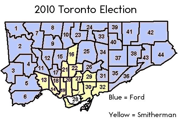 Municipal Election Toronto 2010