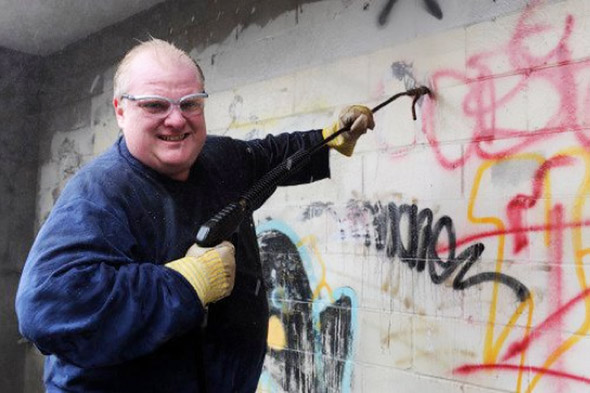 Rob Ford Grafitti