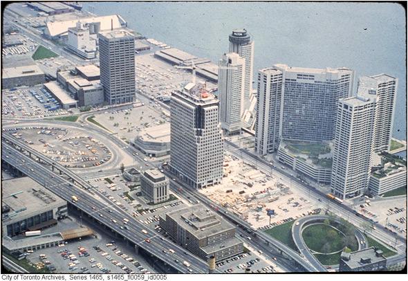 Toronto Harbour 1980s