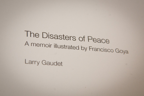 Larry Gaudet Disasters Peace