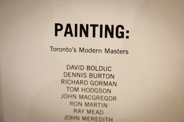 Toronto Masters Painting
