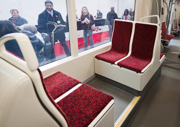 New Streetcar Seats