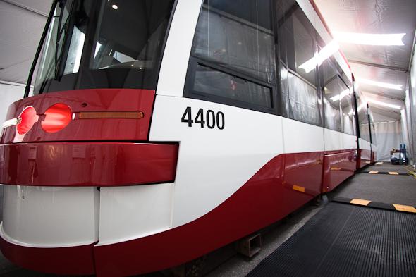 ttc, new, streetcar