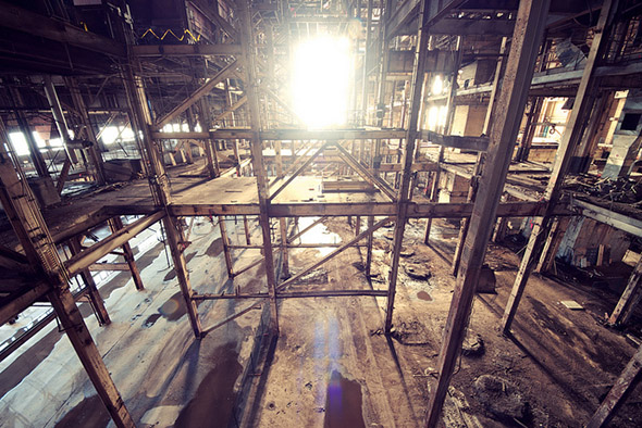 hearn, light, urbex
