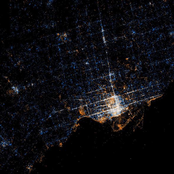 Social Media Map Toronto