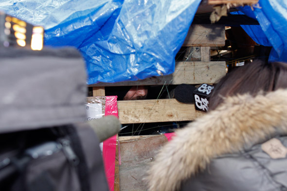 Occupy Toronto Barricade