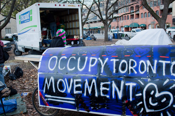 Occupy Toronto Police Eviction