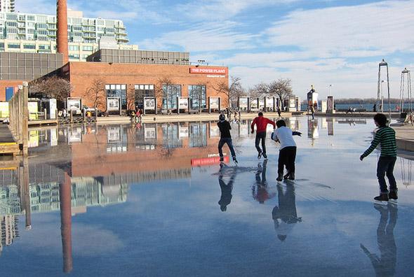 skate, water, rink