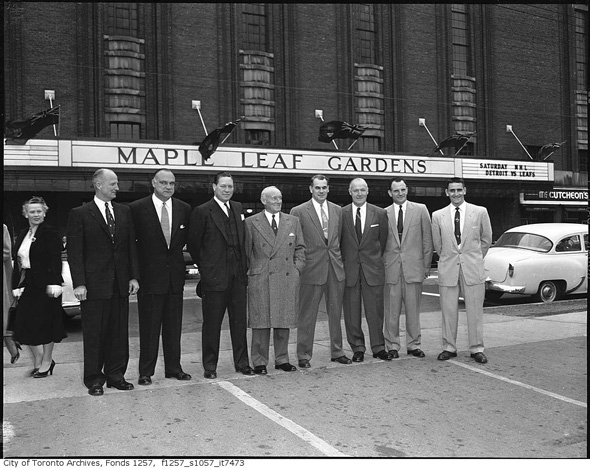 Maple Leaf Gardens 1950s