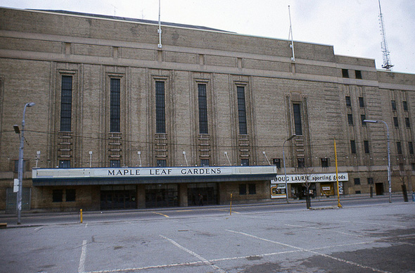 Maple Leaf Gardens 1977