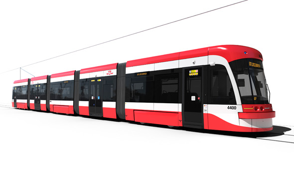 New TTC Streetcar Design