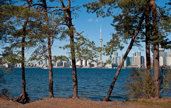 Toronto from Snake Island