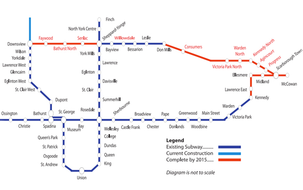 Sheppard Subway extension