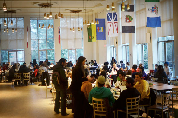 Glendon College cafeteria
