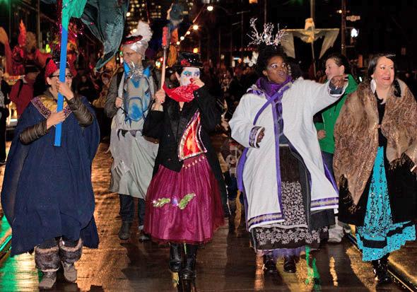 Kensington Market Winter Solstice Parade