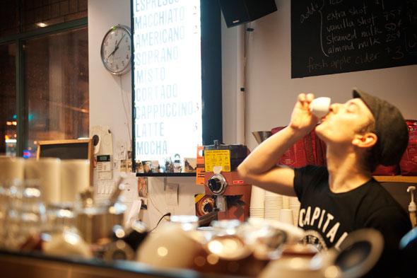 Toronto barista