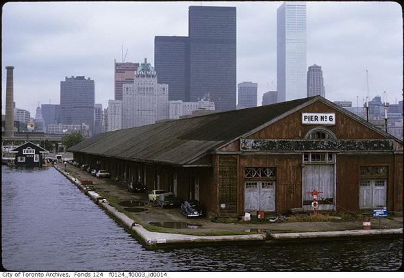 Toronto History Pier 6