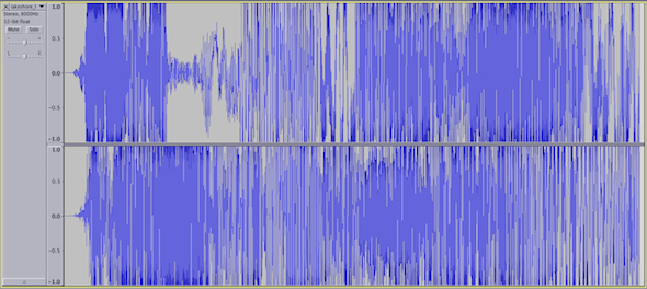 Toronto Sound Map Waveform Soundscape
