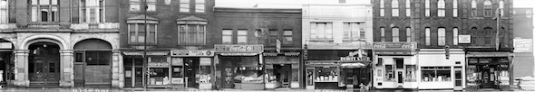 Yonge Street Stores Vintage 1950 McGill to Gerrard