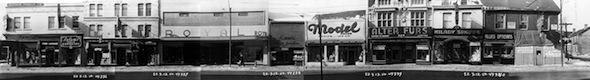 Yonge Street Stores Vintage 1950 Elm Walton