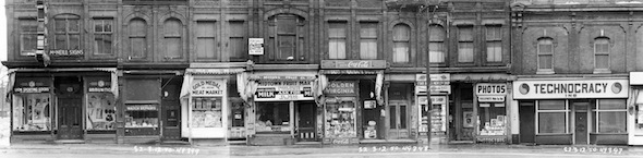 Yonge Street Stores Vintage 1950 Granby McGill