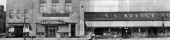 Yonge Street Stores Vintage 1950 Gerrard North