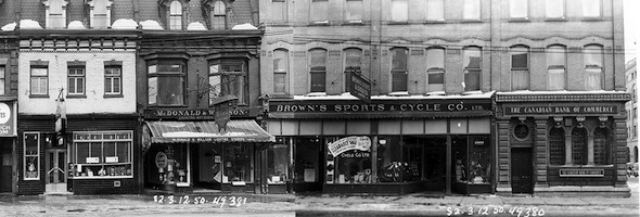 Yonge Street Stores Vintage 1950 North Gould
