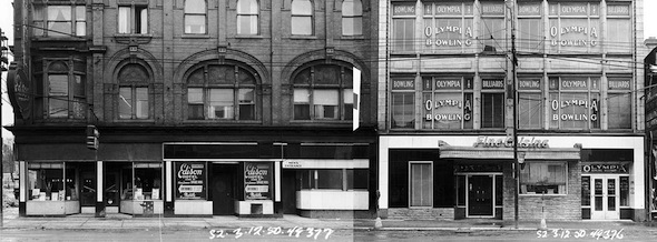 Yonge Street Stores Vintage 1950 South Gould