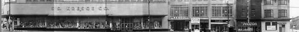 Yonge Street Stores Vintage 1950 South Carlton