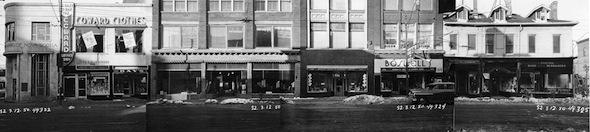 Yonge Street Stores Vintage 1950 Dundas