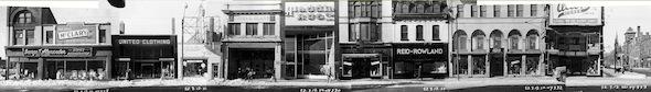 Yonge Street Stores Vintage 1950 Edward Elm