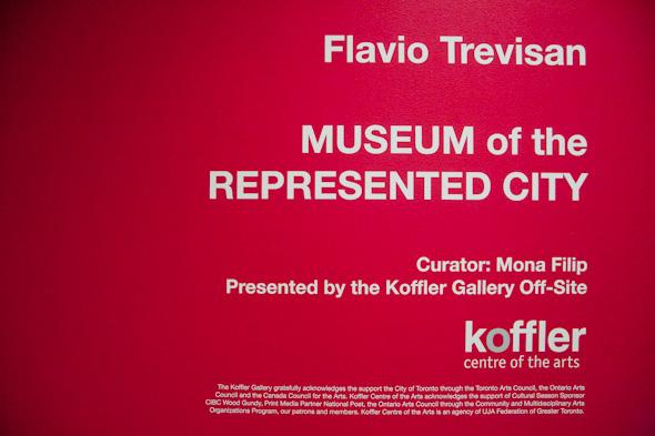Flavio Trevisan Museum Represented City