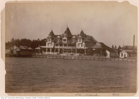 Hotel Hanlan Hanlan's Point Amusement Park