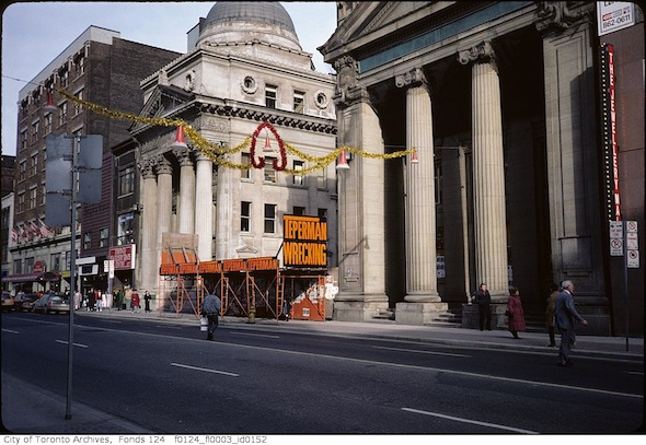 Yonge Bank 197 Massey Tower Colonial Tavern Demolition