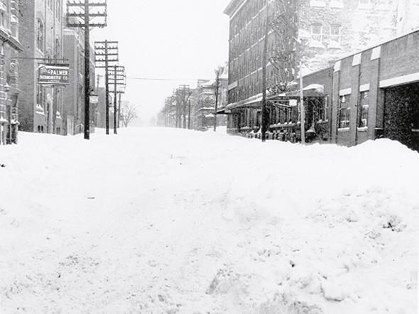 Snowstorm Toronto 1944