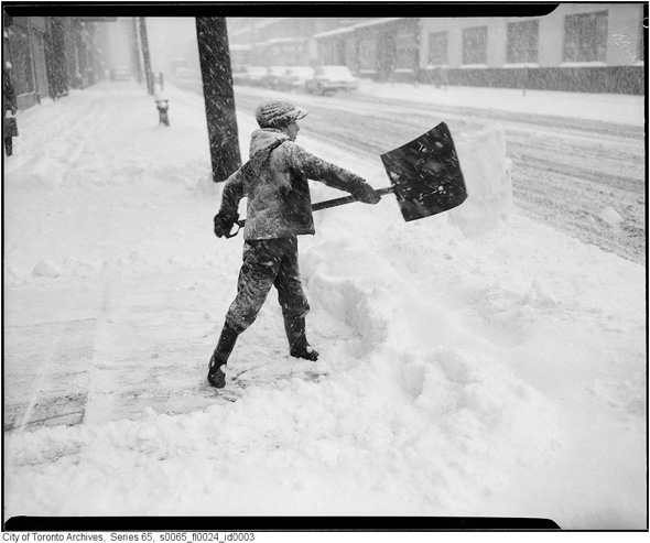toronto snow photos