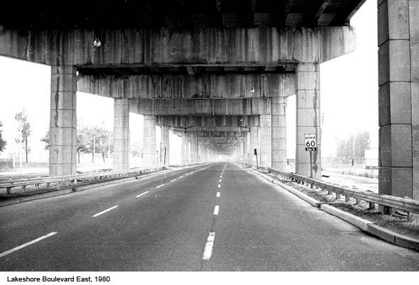 Lakeshore Boulevard 1980
