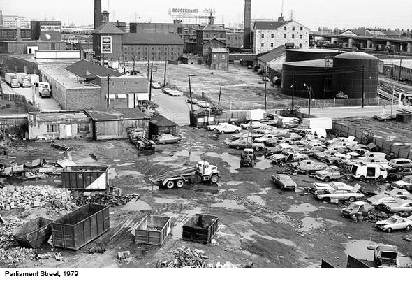 Parliament Street Toronto 1979