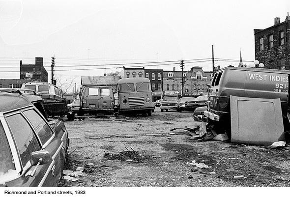 Queen West Toronto 1980s