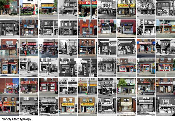 Variety Stores Toronto typology