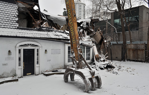 Odette House Demolition