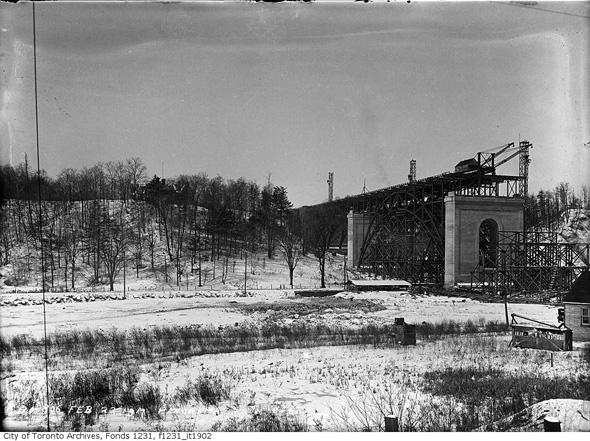 vintage winter toronto