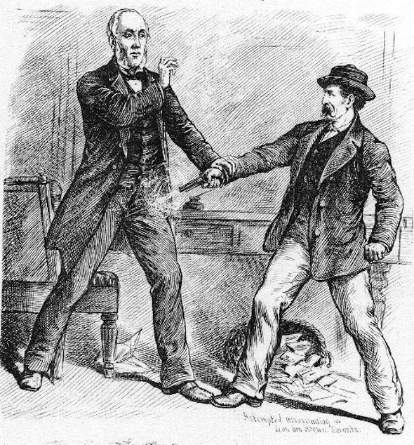 Hangings George Brown Assassination
