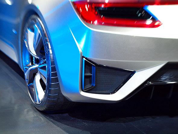 Acura NSX detail