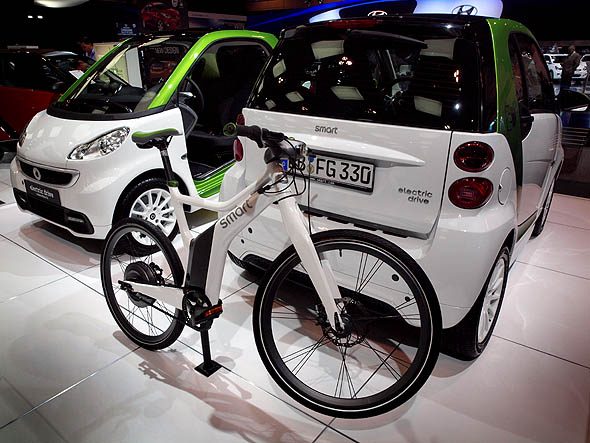 Smart EV and Smart ebike