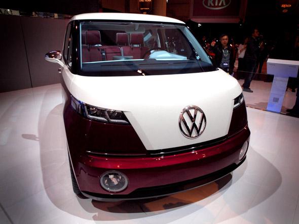 VW Bulli concept van