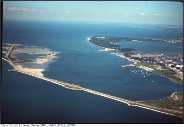 port lands history